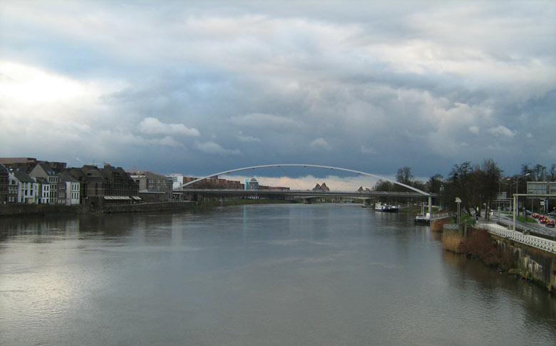 Cumulonimbus boven Maastricht