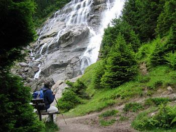 Natuurwandeling langs de Grawa waterval in het Stubaital