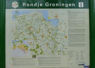 informatiebord wandelen Groningen