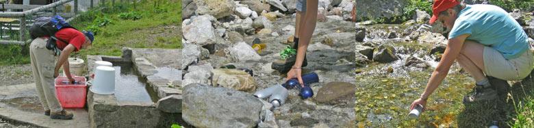 In Oostenrijk is de watervoorraad gemakkelijk aan te vullen