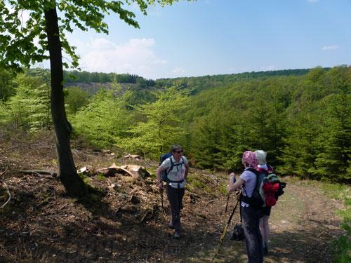 een pittige klim uit het dal