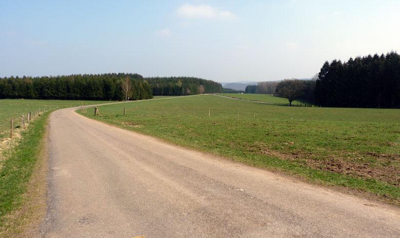 overal prachtige uitzichten in het stille landschap