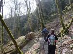 bergpaadje boven de Semois