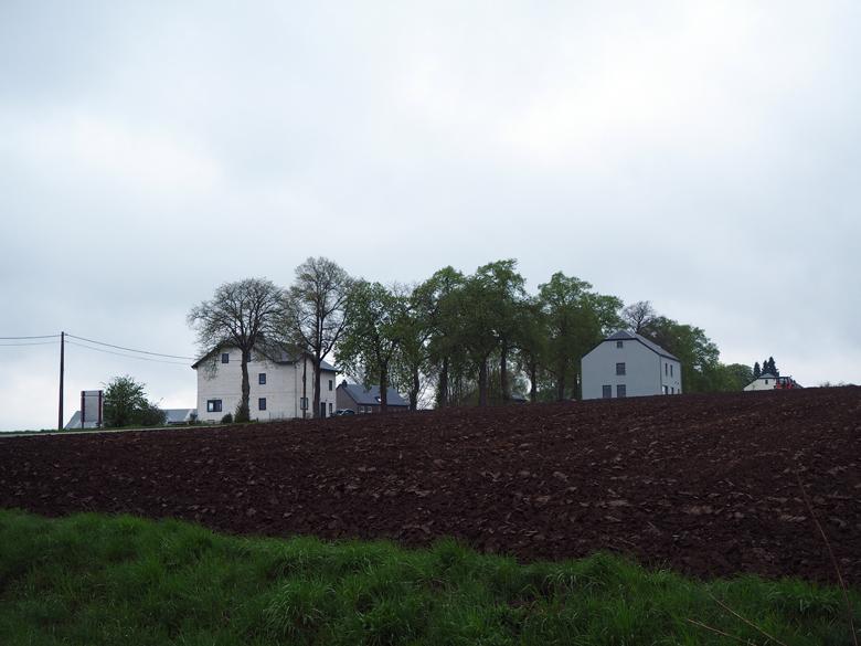 de eerste huizen van Beausaint La Roche