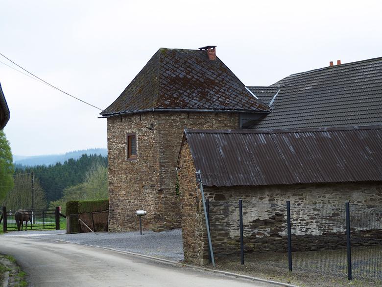 oude natuursteen panden in het centrum