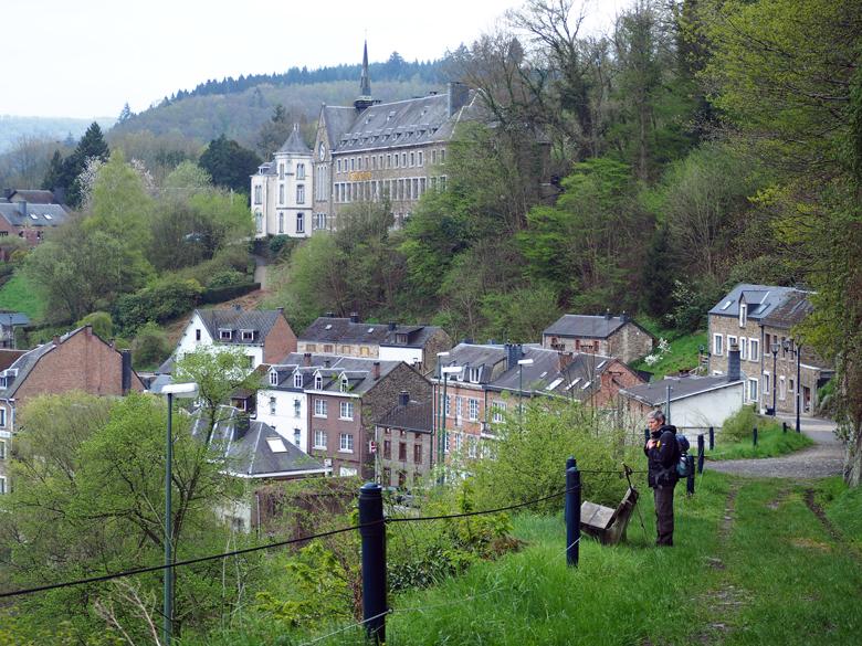 pauze met een schitterend uitzicht op La Roche