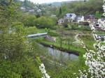 uitzicht op La Roche-en-Ardenne