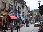 lopend door La Roche-en-Ardenne