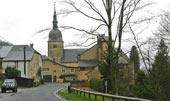 kerk als centraal punt in het dorp