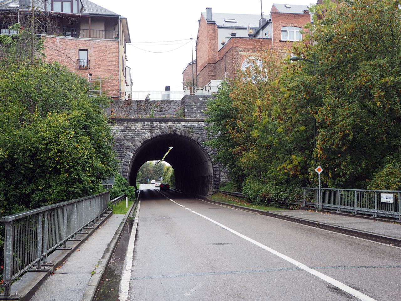 Tunnel naar het centrum van Rochefort