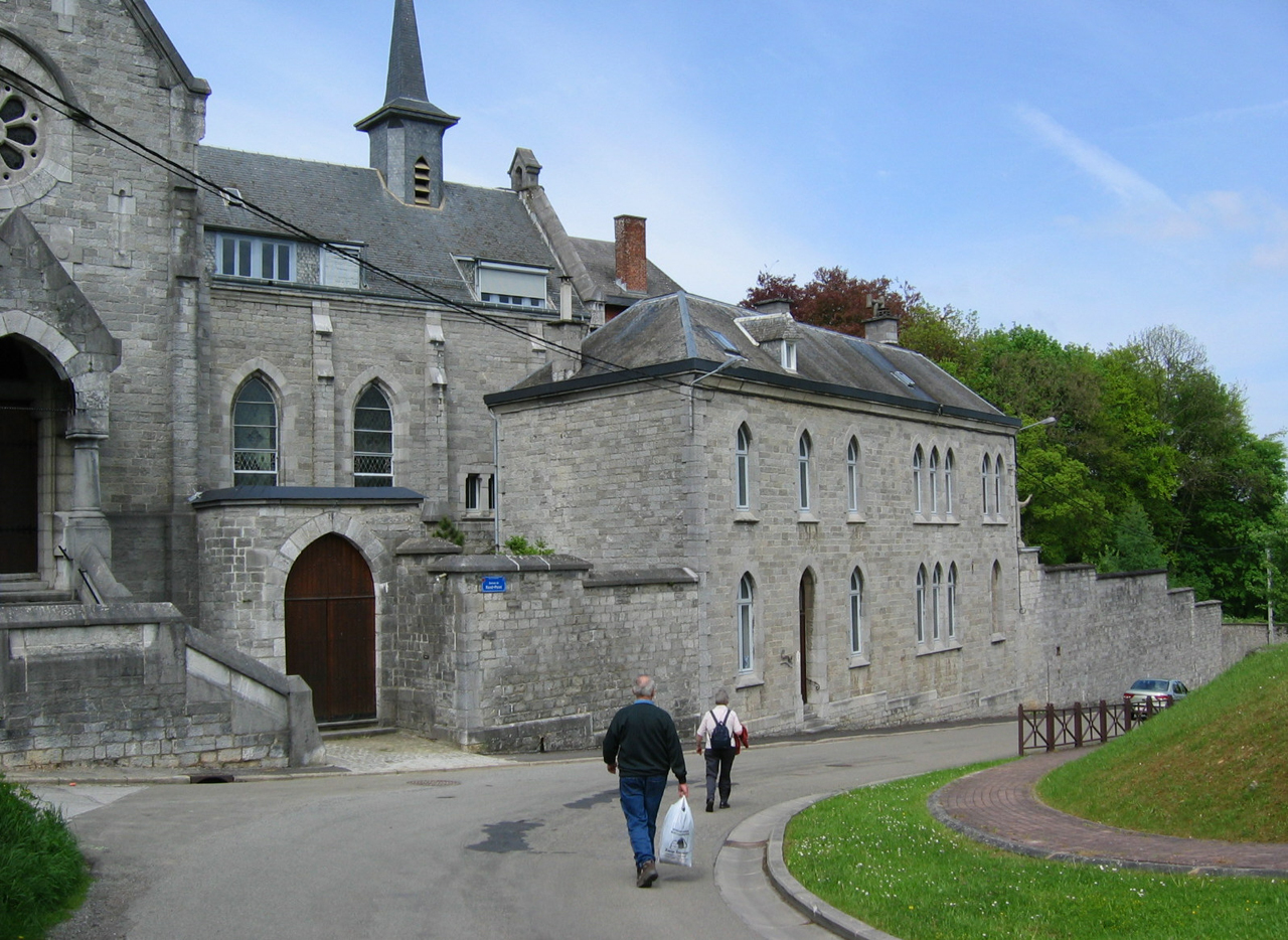 het klooster Hamerenne
