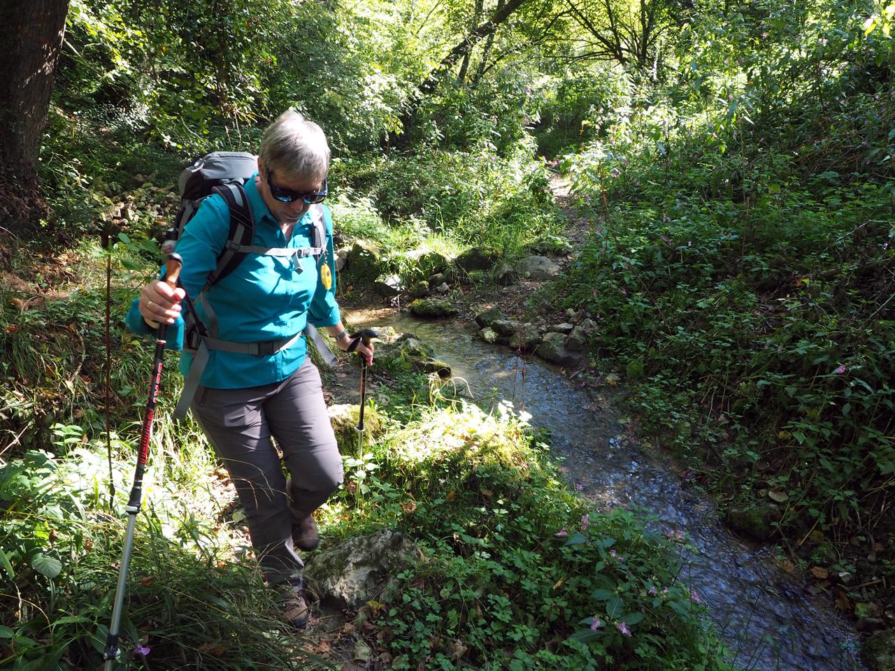 via de avontuurlijke route langs de Ourthe