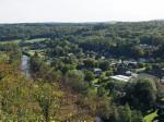 uitzicht op Bomal vanaf de Calvariberg
