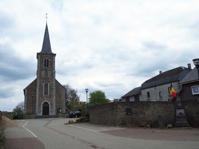 de kerk van Bérismenil