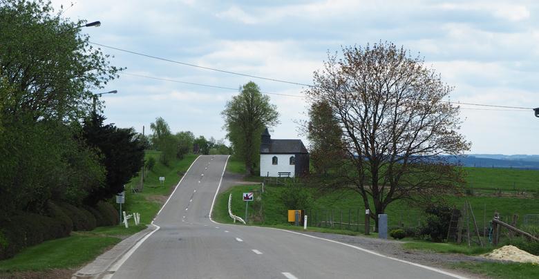 langs de hoofdweg naar de St. Gotte