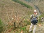 Le Hérourots, wandelen over een leisteenklamm