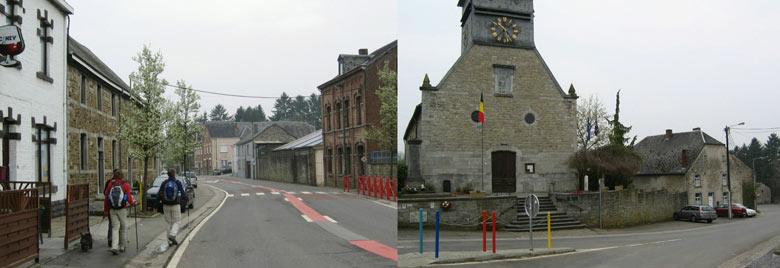 het verlaten dorpje Bure