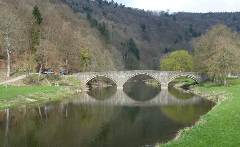 terug bij de Pont de Cordemois