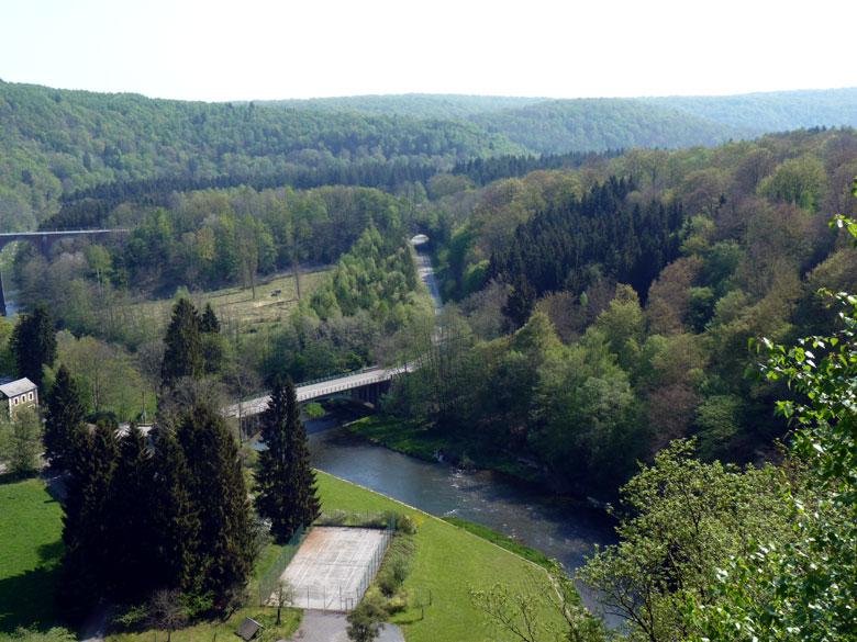 de Roche de Moulin is een schitterend uitzichtpunt