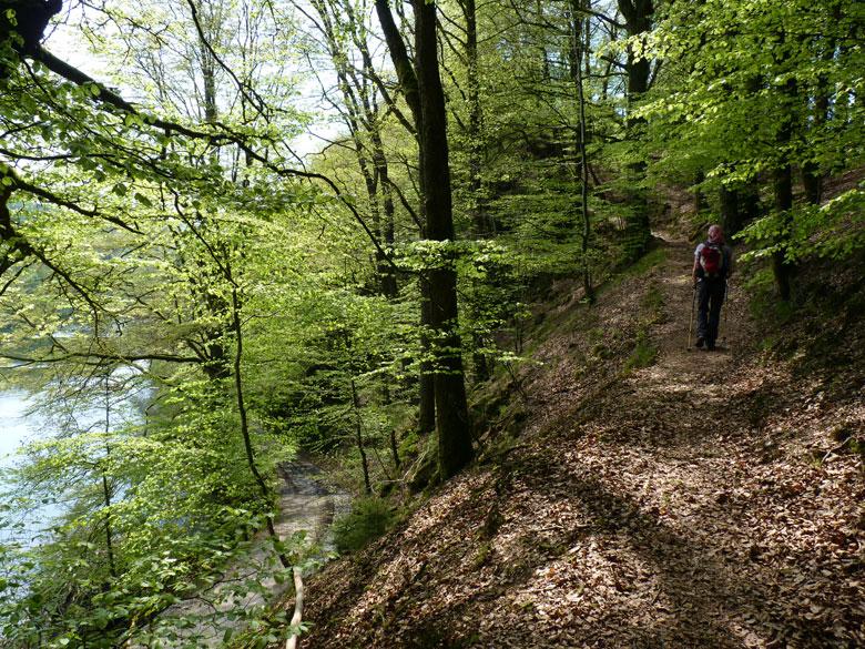 op naar de bergkam van de Tombeau du Chevalier