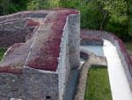 burcht ruïne van Herbeumont