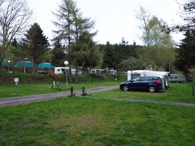 ruime staplaatsen camping Petite Suise