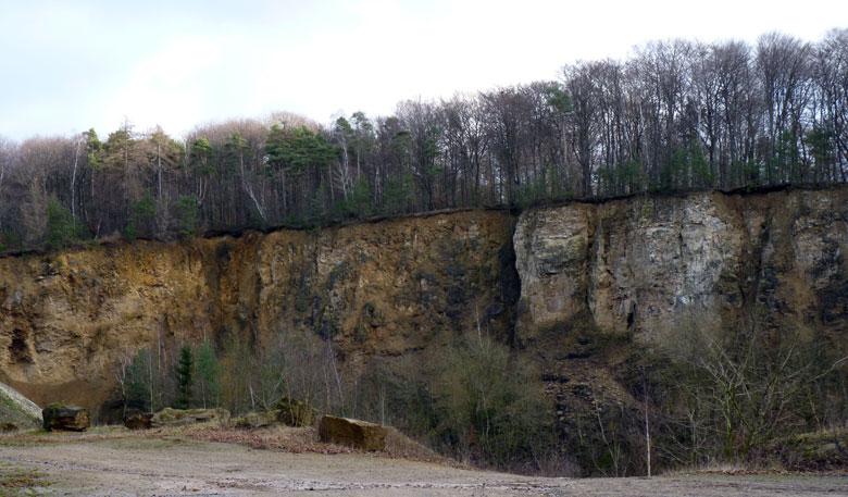 Quartz Steinbruch Silberberg