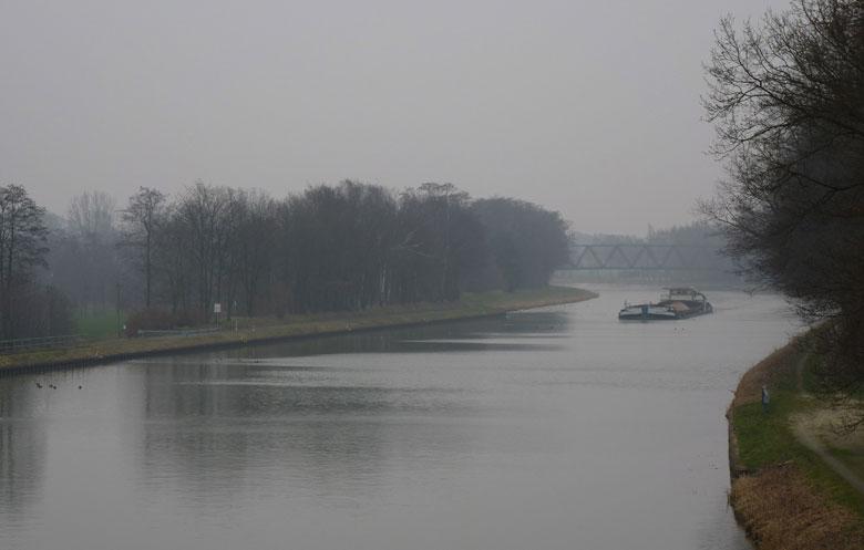 drukst bevaren kanaal van Niedersachsen