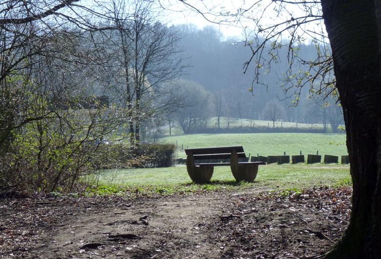 een mooi plekje voor het Waldfreibad Teckelenburg