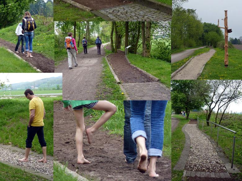 een kijkje op het blote-voeten-pad