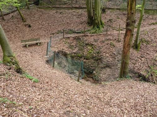 de tweede bron is de Felsen Quelle