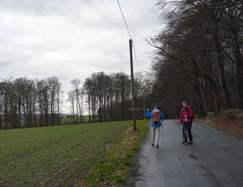 op weg vanaf het Weberhaus