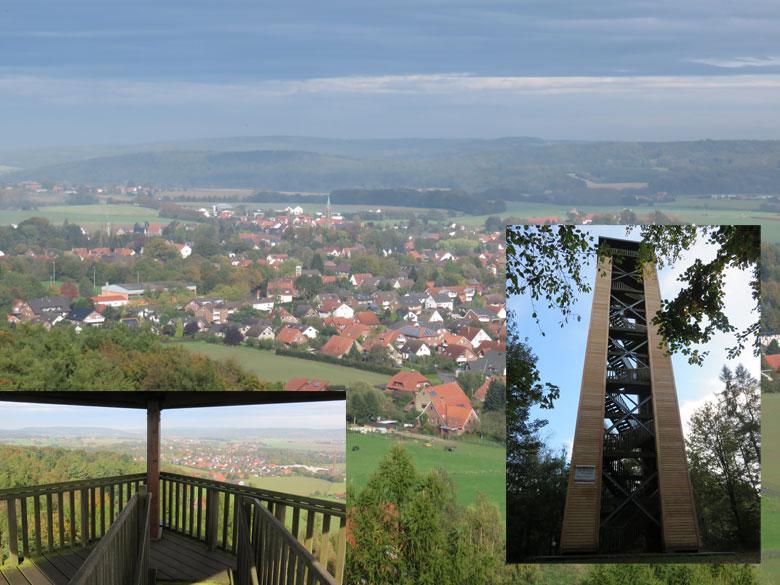 de geheel nieuwe de Stuckenbergturm
