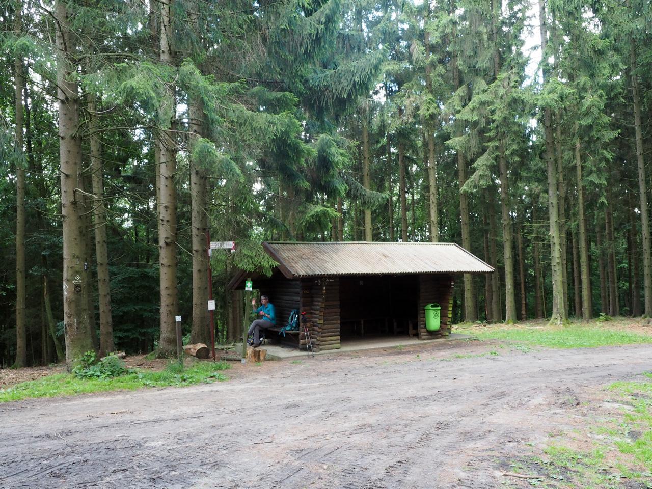 bij de Schutzhütte Baumanns Knollen
