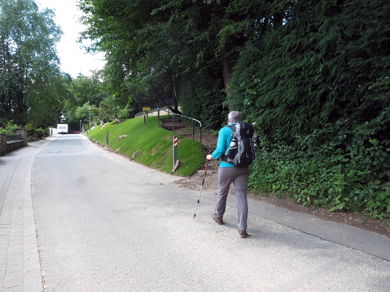 op zoek naar de Kammweg Urberg