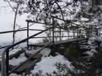 indrukken vanaf de bergrug Rauenstein
