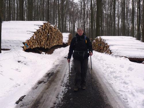 afdaling over de Winterweg naar Schmilka