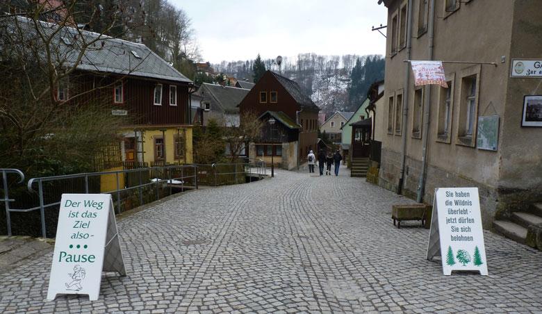 terug in Schmilka zijn de toeristische winkeltje geopend