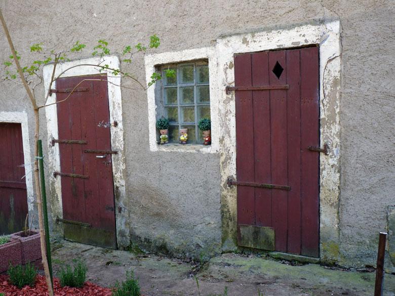 terug bij de eerste huizen van Berdorf