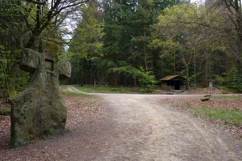 het Kultur Denkmal Fraubillenkreuz