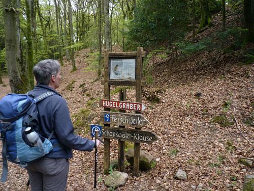 de Wikingerburg en Hügelgräber maken niet veel indruk