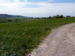 mooie vergezichten vanaf de asfaltweg boven Biesdorf