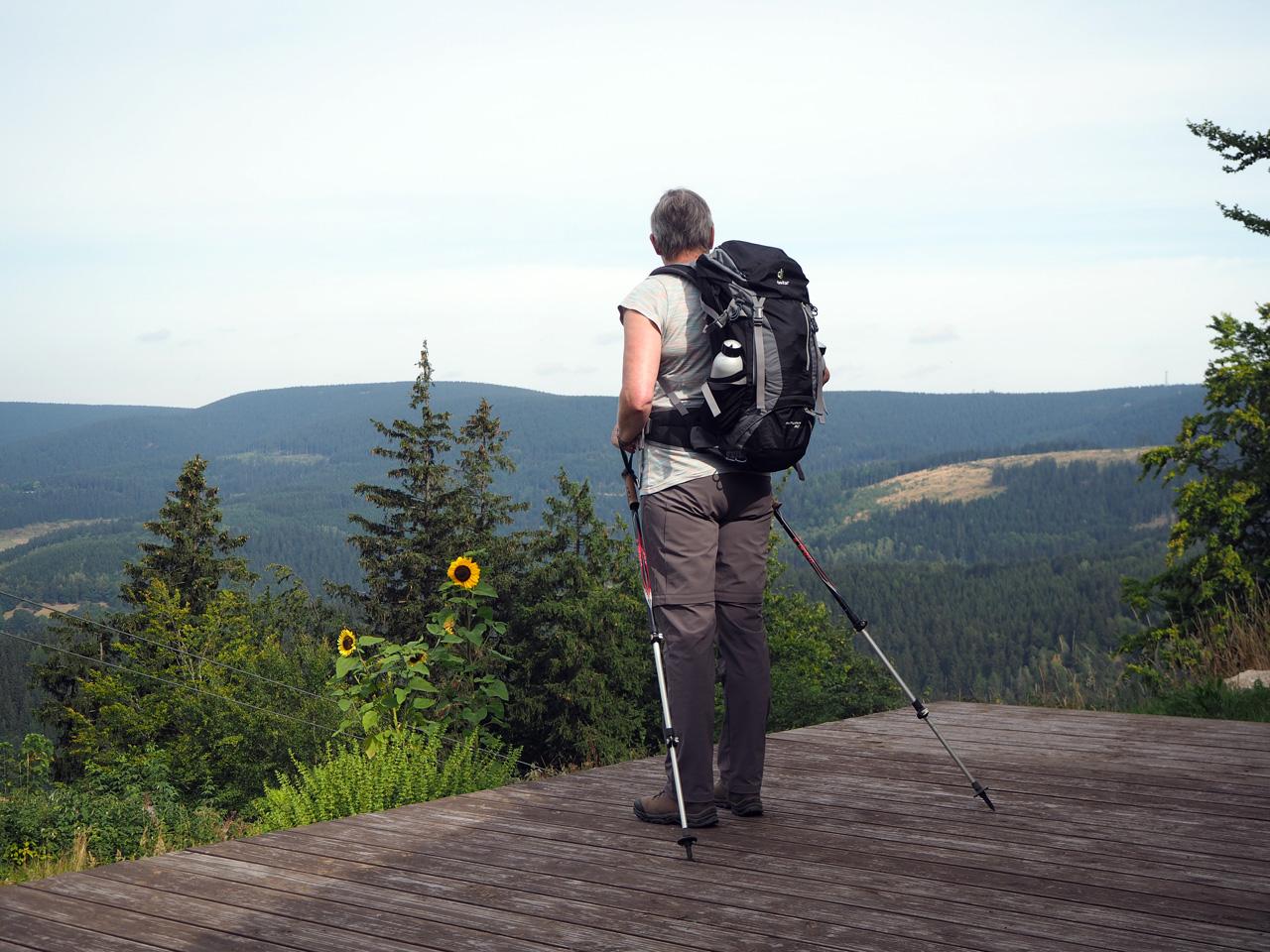 uitzichtpunt Salzberglift Thüringer Wald