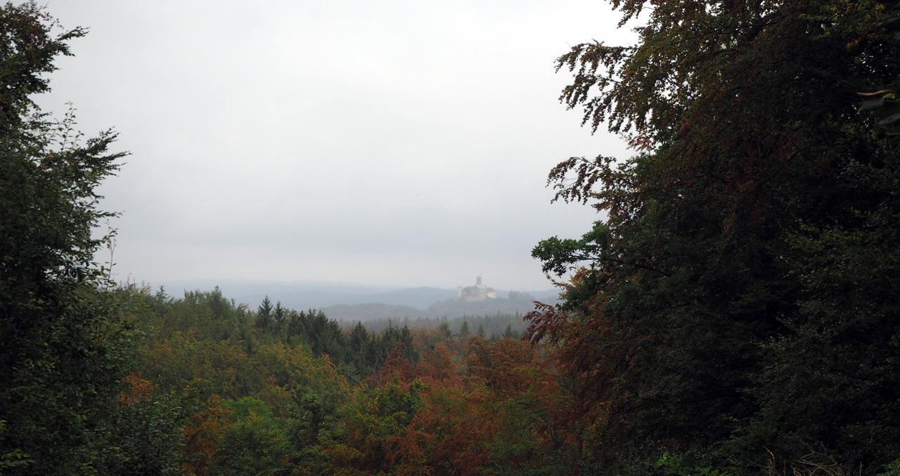 in de verte Schloss Wartburg