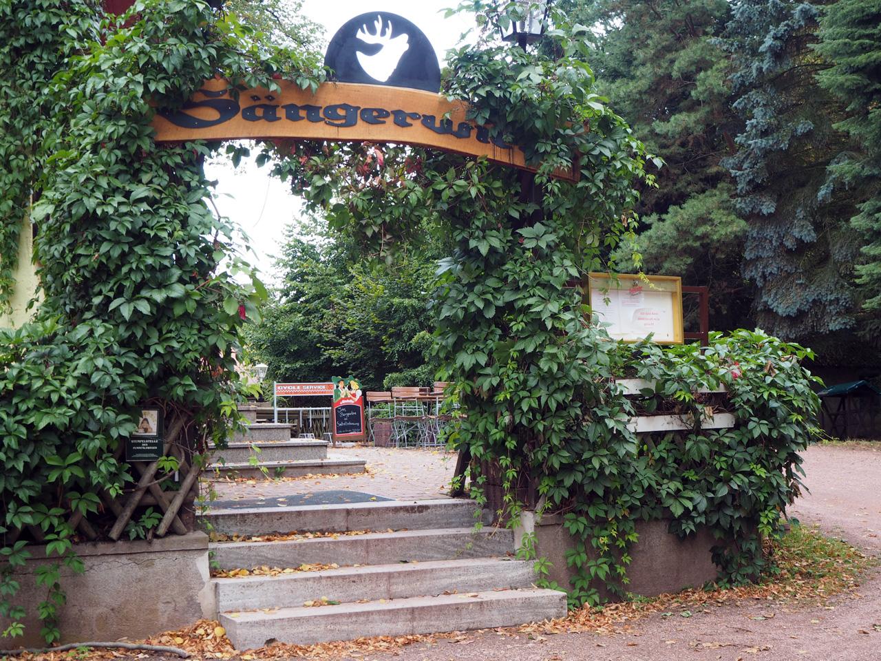 het terras bij de Sängerwiese