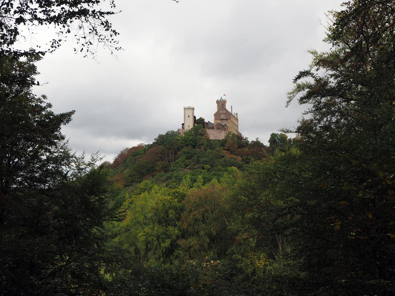 lunchen met uitzicht op Schloss Wartburg