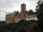uitzichtpunt bij kasteel Wartburg