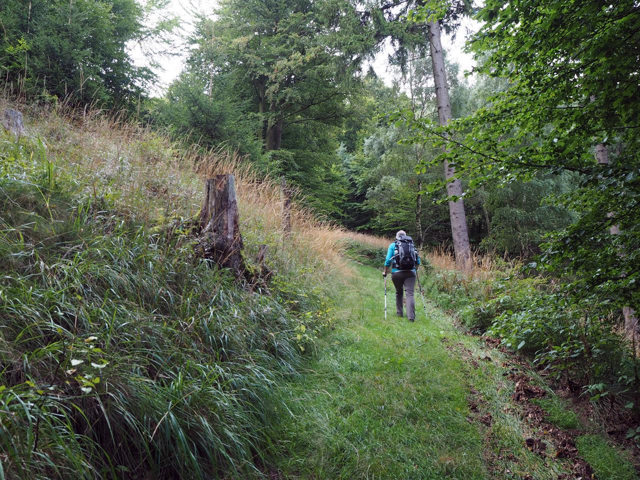 we ronden de Kleiner Inselsberg