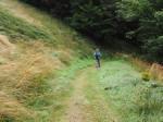 Grauer Weg panorama wandelpad