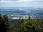 op de Grosser Inselsberg bij Tabarz